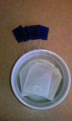 Felt Food Tea Bags