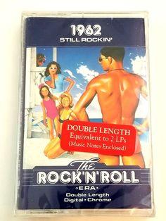 The Rock'N'Roll Era Still Rockin' Cassette Double Length Digital Chrome Rockn Roll, Music Notes, Lps, Be Still, Chrome, Digital, Cards, Maps, Sheet Music