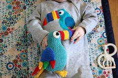 Knitting Tutorials – Toucan Tim, knitting pattern PDF – a unique product by MrsMumpitz on DaWanda