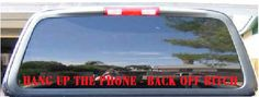 Guy next door new rear window decal... - Ford F150 Forum ...