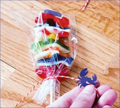 Gummy Candy Skewers