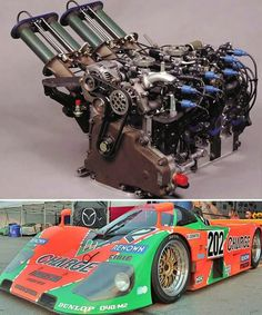 1991 Le Mans Winner Mazda 787B.