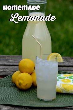 Homemade Lemonade Re