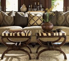 Decorative tables for living room - unique rattan table | Decolover.net