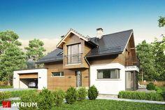 Projekt Willy II - elewacja domu