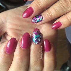 Pink & Blue Glitter
