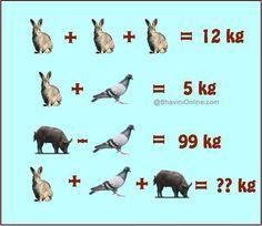 Hmmmm who can solve this Math For Kids, Fun Math, Math Games, Math Activities, Sistema Linear, Math Talk, Maths Puzzles, Funny Puzzles, Math Challenge