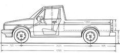 What is a Volkswagen Caddy? Vw Rabbit Pickup, Vw Pickup, Volkswagen Golf Mk1, Vw Caddy Mk1, Vw Group, Mini Trucks, Vw Cars, Vw Beetles, Automotive Design