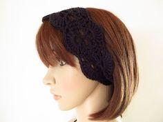 Schmuck Design, Knitted Hats, Knitting, Style, Fashion, Hot Pink Fashion, Headband Bun, Hair Jewelry, Knitting And Crocheting