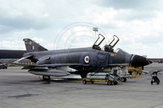 RAF 228 OCU 64 Squadron McDonnell F-4M Phantom FGR.4 XT894 (1973) | Flickr - Photo Sharing!