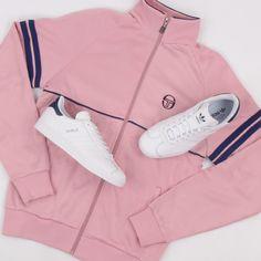 Tracksuit Jacket, Adidas Jacket, Fila Vintage, Sergio Tacchini, Skin Head, Mode Streetwear, Classic White, Casual Wear, Street Wear