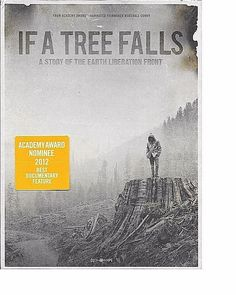 If a Tree Falls A Story of the Earth Liberation Front New DVD FREE SHIP TRACK US