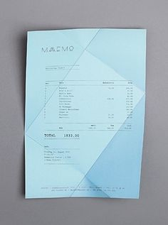 Receipts Food Invoice Like A Pro Design Examples And Best Practices  Invoice  Free Invoice Programs For Small Business with Artist Invoice Template Pdf Foldings  Folding Receipt Maaemo Identity By Bureau Bruneau How To Invoice Someone Excel