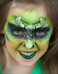 Pixie's Face Painting & Portraits - Monster girl!