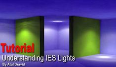This tutorial will teach you how to use IES files in your scenes. You need to have a basic understanding of 3ds max work-flow and at least one IES file with you to complete this tutorial.
