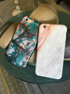 Teal   Coral Marble case for iPhone 6/6s and 6 Plus/6s Plus from Elemental Cases Cell Phone, Cases & Covers - http://amzn.to/2iezkJl