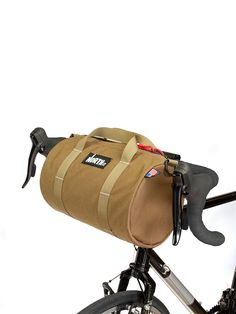 Scout Duffle with Bicycle Handlebar Kit - North St. Bicycle Panniers, Bicycle Bag, Bike Handlebars, Cycling Bag, Cycling Tips, Road Cycling, Velo Cargo, Retro Bike, Bicycle Accessories