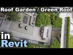Roof Garden Green Roof In Revit Tutorial Youtube Revit Tutorial Roof Garden Green Roof