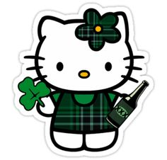 Irish Hello Kitty - Dropkick Murphys by Alex Magnus