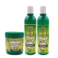 A linha CrecePelo é formulada a partir de substâncias naturais, que promovem o crescimento acelerado dos cabelos, além de dar a eles muito mais saúde, brilho, maciez e flexibilidade.