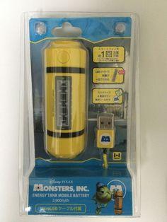 Hamee Disney Monstros INC Tanque de energia leve Carregador De Bateria 2900mAh Japão | Eletrônicos de consumo, Baterias e fontes de alimentação de uso geral, Carregadores de bateria | eBay!