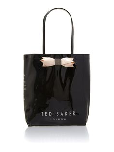 Ted Baker Bowcon black tote bag #houseoffraser http://ow.ly/oJtlQ