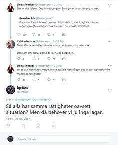 Linda Snecker V svamlar.