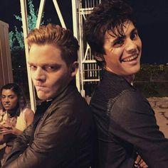 Matthew (Alec) posted this on his social media page: Parabatai
