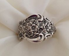 Spoon Ring Renaissance Choose Your Size 8 to 11 by krizsilver, $25.00