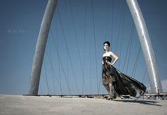ligero y elegante vestido negro strapless