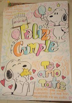 Feliz Cumple #Snoopy #regalo