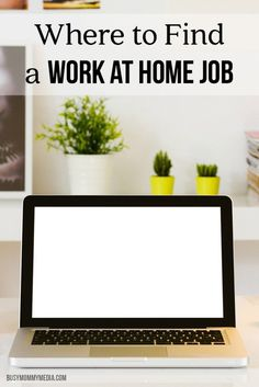 Where to Find a Work at Home Job | Great tips for moms who are looking for a home-based job. If working from home is your goal, this is a must-read!