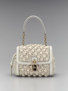 Raffia Shoulder Bag by Dolce & Gabbana - where can I find something like this that I can actually afford??