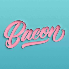Made by Mighty hand lettering interview - Lettering Daily Typography Poster Design, Typography Inspiration, Logo Design Inspiration, Types Of Lettering, Brush Lettering, Hand Lettering, Photoshop Logo, Photoshop Text Effects, Motion Design
