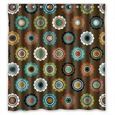 GIOOD Polyester Bathroom Curtains Of Flower For Birthday Gf Valentine Kids Girl Her. Wipe Clean Width X Height / 66 X 72 Inches / W H 168 By 180 Cm(fabric) *** Check this awesome product by going to the link at the image.
