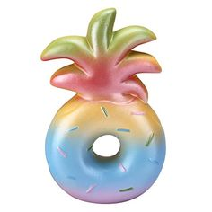 VLAMPO Squishies Scented Pineapple Donut Squishy Slow Ris... https://www.amazon.com/dp/B071DHR41K/ref=cm_sw_r_pi_awdb_x_h53cAbVYFKM8V