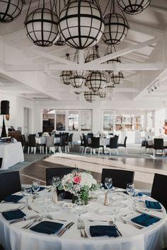 Casual Wedding Reception, Blue Wedding Receptions, Long Table Wedding, Rustic Wedding Backdrops, Wedding Chairs, Reception Rooms, Wedding Decor, Wedding Table Centerpieces, Floral Centerpieces