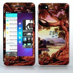 The Old Oak Giant oak tree beside a lake phone skin sticker for Cell Phones / Blackberry Z10   $7.95