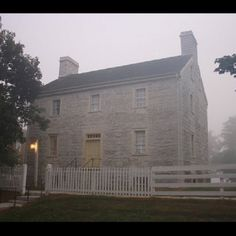 Old Stone House, Shaker Village of Pleasant Hill, KY