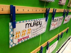 Diary of a Not So Wimpy Teacher: Interactive Math Vocabulary wall