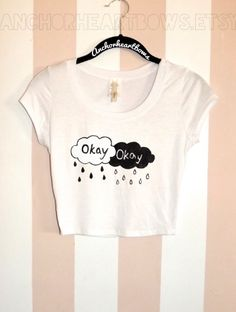 The Fault in Our Stars Okay Crop Top Shirt #229