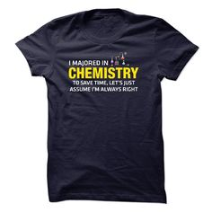 Chemistry Major T Shirt, Hoodie, Sweatshirt