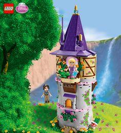 Rapunzel's Creativity Tower Yummy World, Lego Disney Princess, Disney Collector, Lego Games, Heart For Kids, Lego Friends, Lego Marvel, Lego Sets, Lego Star Wars
