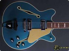 Fender / Coronado II / 1967 / Lake Placid Blue