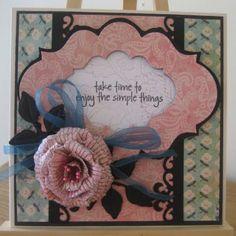 Floral Fantasies: Penny Black