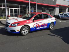 Electrical Connection Vehicle Wrap Done By Sign Pro Inc.