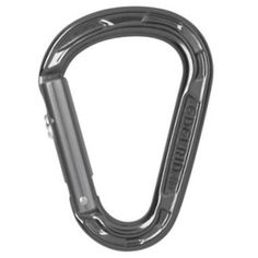 Edelrid HMS Strike Slider Carabiner -  A new generation of HMS carabiner with automatic gate closure that makes it possible to keep weight down to a minimum. | at www.weighmyrack.com/ #rock #climbing #gear