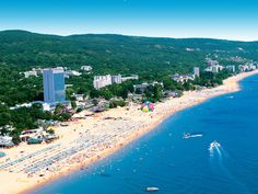 This is a popular and attractive beach resort that is located not far away from Varna. Description from orangesmile.com. I searched for this on bing.com/images