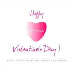 Happy Valentines Day :) ❤️ Www.la-monique.com