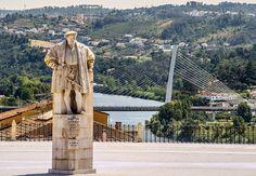 King D. Manuel I Statue, Coimbra, Portugal